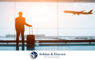 Relaxation of Entry Restrictions to Germany: COVID-19 Coronavirus businessman arriving in Germany